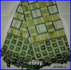 100% Cotton Swiss Voile Latest Bridal Dress Lace Fabric 5 Yds Lot