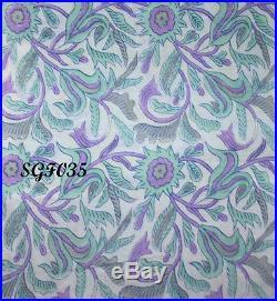 100% Cotton Print Fabrics 20 Yard Wholesale Lot Fabric Natural Print Fabric Art