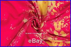 100 Yard Lot Tie Dye Shibori Rayon Fabric Sewing Dress Kimono Upholstery Fabric