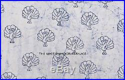 100 Yard WHOLESALE LOT Cotton Fabric Indian Handmade Jaipur Floral Hand Printed
