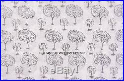 100 Yard WHOLESALE LOT Fabric Indian Cotton Handmade Jaipur Floral Hand Printed