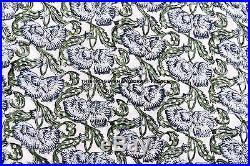100 Yard Wholesale Lot Fabric Cotton Sewing Dressmaking Indian Hand-Block Print