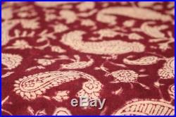 100 yard wholesale lot Indian Hand Made cotton fabric hand block print fabric ##