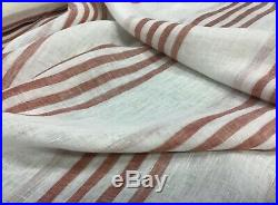 10 YARDS LOT-Cowtan and Tout 120 stripped linen