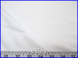 10 Yards Fabric Antique Satin White 3 Pass Blackout Curtain Drapery Lining DR12