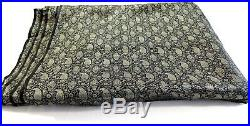 14 Yards Wholesale Lot India Silk Brocade Fabric Gold Floral 45 Wide 14yards
