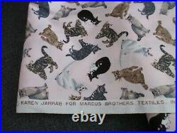 1 Yard Lots Of Cats Karen Jarrar For Marcus