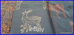 20 Yard Mix Lot india Hand Block Print soft pure cotton Animal Print Fabric PU70