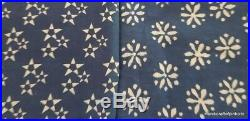 20 Yard Mix Lot indian Hand Block Print Fabric cotton Cut Suit Piece Fabric PU68