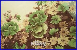 2yard/lot 30d floral positioning print chiffon voile elegant dress fabric gauze
