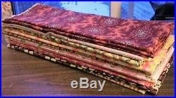 30 Yds 10 Three Yard Cuts Lot 2 No Duplicates 100% Cotton, Quilting Sewing