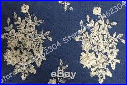3Yards/lot Quality Bridal Lace Fabric Off White Wedding Swiss Cord Lace 51''wide