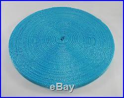3/8(10mm) Blue Nylon webbing fabric lots DIY supply 3 7 15 20 40 55 yard FS
