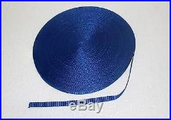 3/8(10mm) royal blue Nylon webbing fabric lots DIY supply 3 7 15 20 40 55 yard