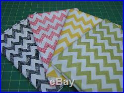 4 Yards Quilt Cotton Fabric Henry Glass Poppy Patio Chevron Fabric Lot