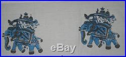 50 Yard Lot Indian Indigo Blue Fabric Hand Block Print Fabric Handmade Fabric