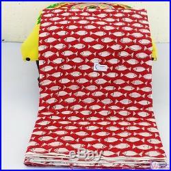 50 Yard Mix Lot Fabric Hand Block print fabric Indian 100% Cotton Fabric Mp44