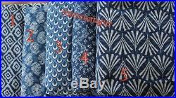 50 Yard Wholesale Lot Indigo Fabric Hand Block Print Quilt And Curtain Fabric 5