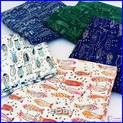 50 Yard Wholesale Mix Lot Fabric Hand Block print fabric Cotton Running NMVGJC31