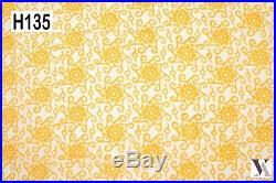 50 Yards Fabric Cotton Natural Hand Block Print Dress India. H135