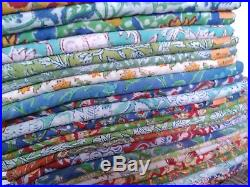 50 Yards Fabric wholesale Price lot fabric hand block print Fabric cotton@fabric