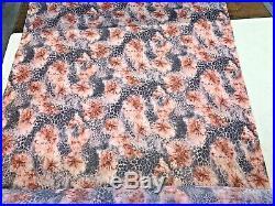 Animal Print Stretch Polyamide Mesh Fabric