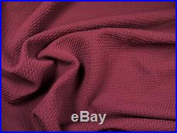 Bullet Textured Liverpool Fabric 4 way Stretch Dark Marsala Rose X53