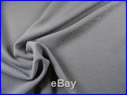 Bullet Textured Liverpool Fabric 4 way Stretch Gray Grey R11