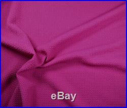 Bullet Textured Liverpool Fabric 4 way Stretch Magenta Q11