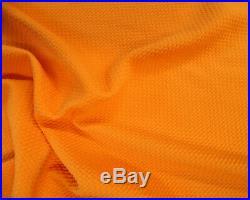 Bullet Textured Liverpool Fabric 4 way Stretch Mango Orange Q30