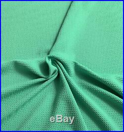 Bullet Textured Liverpool Fabric 4 way Stretch Mint Green S13