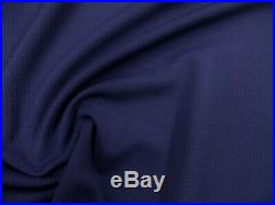Bullet Textured Liverpool Fabric 4 way Stretch Navy S37