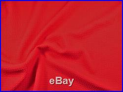Bullet Textured Liverpool Fabric 4 way Stretch Red Q52