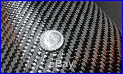 Carbon Fiber Cloth Fabric 2x2 Twill 20 w HIgh Modulus 3 YARD LOT