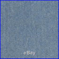 Cotton Denim Fabric Lot Yard Stretch Blue/Black 8 oz 60 wd Jeans Dress Material