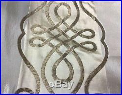 Cowtan & Tout CHATEAU MARMONT Bronze Silk Damask- 10 Yards Lot