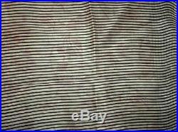 Cream Rust Pure Silk 4 yard Vintage Sari Saree Fabric Lot Lots of Colours #6IAF6