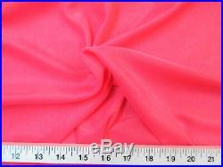 Discount Fabric 108 Aerial Silks Acrobatic Dance Stretch Tricot Dark Coral TR10