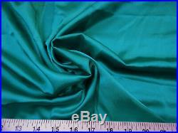 Discount Fabric Charmeuse Silky Bridal Satin Apparel Jade CS10