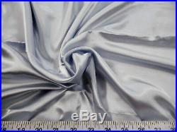 Discount Fabric Charmeuse Silky Bridal Satin Apparel Silver CS15