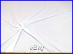 Discount Fabric Cotton Blend White Lining Material 10 Yard Lot CB13