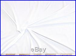 Discount Fabric Light Weight Swimwear Lining 4 way stretch White LY786