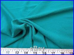 Discount Fabric Liverpool Textured 4 way Stretch Scuba Dark Jade LP01
