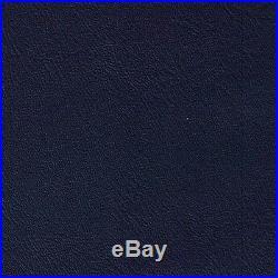 Discount Fabric Marine Vinyl Outdoor Upholstery Navy Blue 21MA