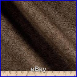 Discount Fabric Richloom Tough Faux Leather Pleather Vinyl Bryant Smoke RR40