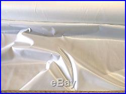 Discount Fabric Ripstop Rip Stop Nylon Water Resistant White 10 yard lot RS01