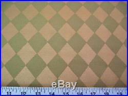 Discount Fabric Robert Allen Upholstery Drapery Jesters Cloth Aloe Diamond FF21