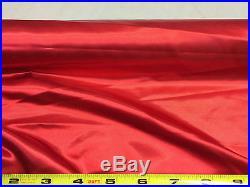 Discount Fabric Satin Taffeta Red 65 inches wide SA01