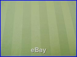 Discount Fabric Tablecloth Brocade Satin Stripe Sage Green BB40