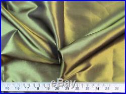 Discount Fabric Two Tone Iridescent Apparel Taffeta Olive Gold Taf09